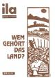 Titelblatt ila 215 Wem gehört das Land?