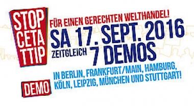 CETA & TTIP stoppen! Für einen gerechten Welthandel!