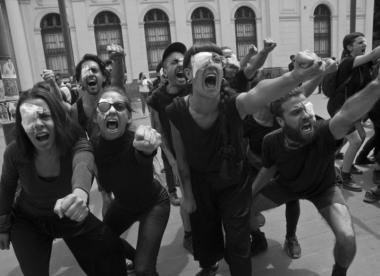 Solidarität mit Chile – für die Fotograf*innen der ersten Reihe