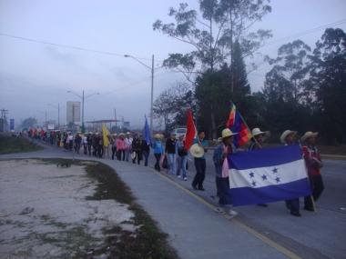 Foto: Honduras-Delegation