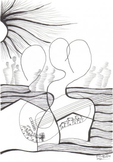 Zeichnung: Alberto Jerez