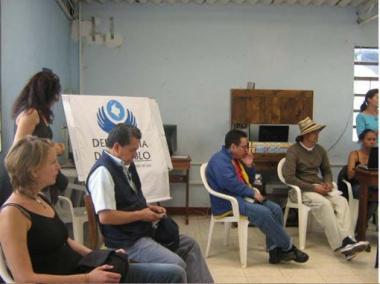 Foto: Kolumbienkampagne