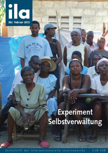 ila 362 Titelblatt Experiment Selbstverwaltung