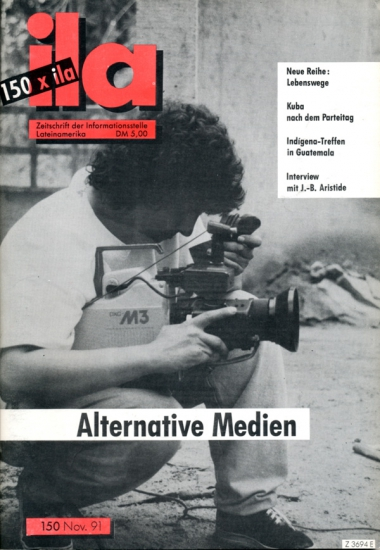 Titelblatt ila 150 Alternative Medien