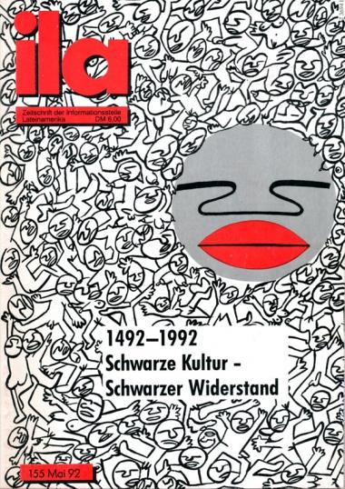 Titelblatt ila 155 Schwarze Kultur - Schwarzer Widerstand