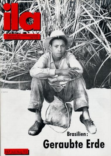 Titelblatt ila 157 Brasilien: Geraubte Erde