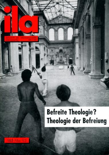 Titelblatt ila 165 Theologie der Befreiung