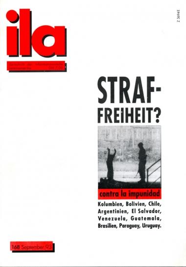 Titelblatt ila 168 Straffreiheit?