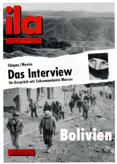 Titelblatt ila 175 Bolivien