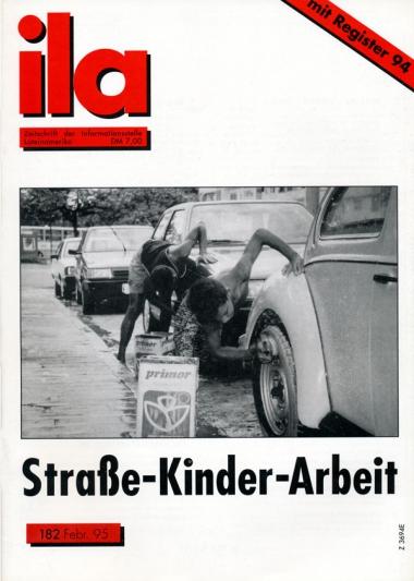 Titelblatt ila 182 Straße - Kinder - Arbeit