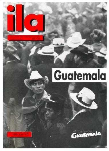Titelblatt ila 186 Guatemala