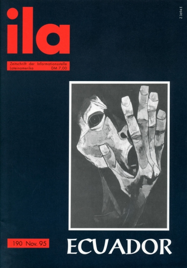 Titelblatt ila 190 Ecuador