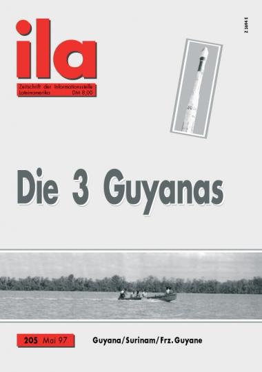 Titelblatt ila 205 Die drei Guyanas