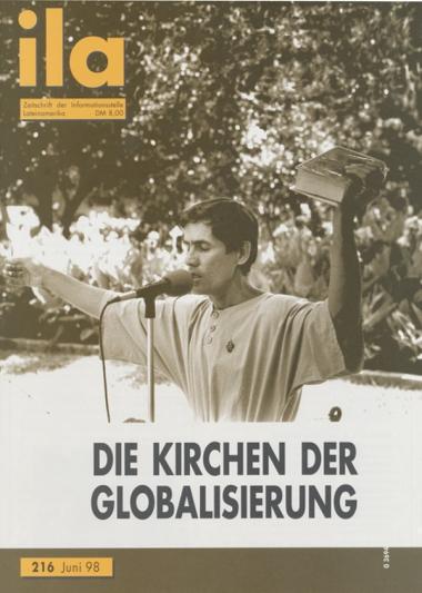Titelblatt ila 216 Globalisierungskirchen