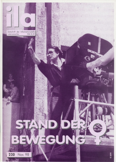Titelblatt ila 220 Frauenbewegung