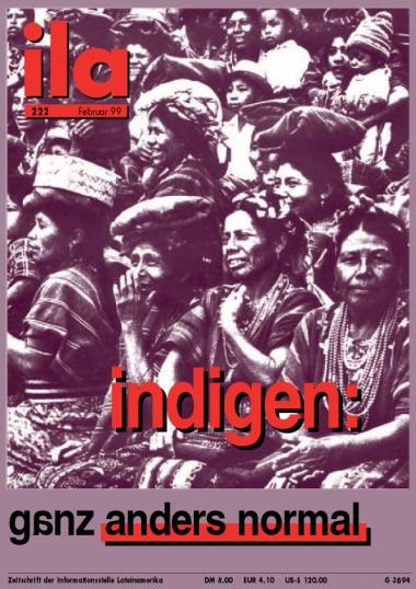 Titelblatt ila 222 Indígenas I