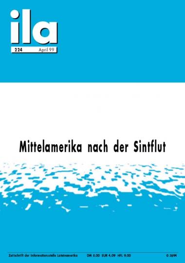 Titelblatt ila 224 Mittelamerika Mitch