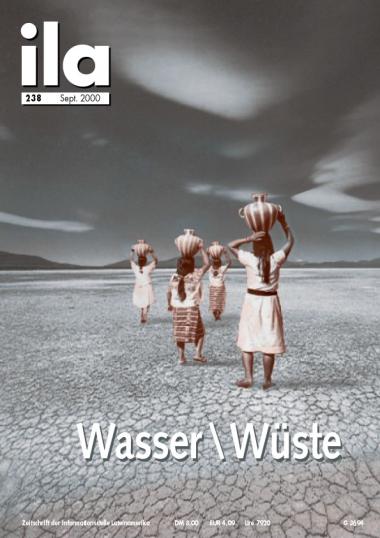 Titelblatt ila 238 Wasser \ Wüste