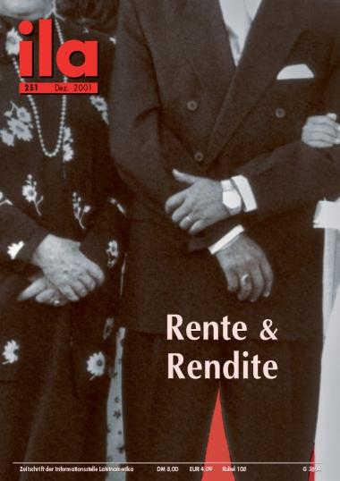 Titelblatt ila 251 Rente & Rendite