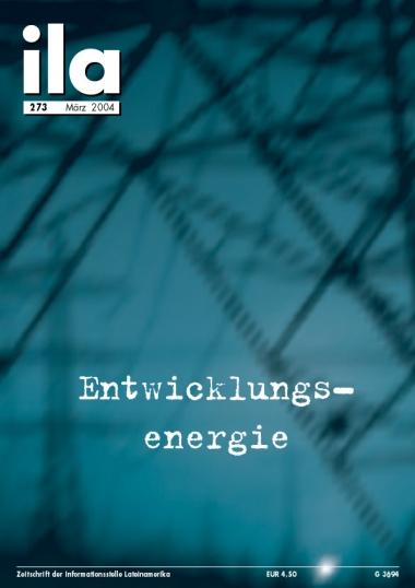 Titelblatt ila 273 Entwicklungsenergie