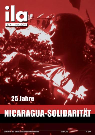 Titelblatt ila 278 Nicaragua-Solidarität
