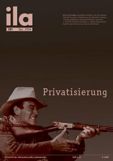 Titelblatt ila 281 Privatisierung