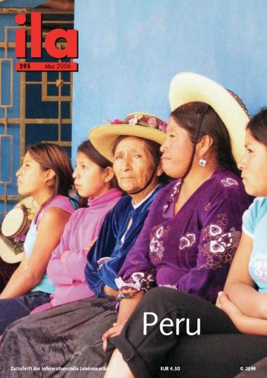 Titelblatt ila 295 Peru