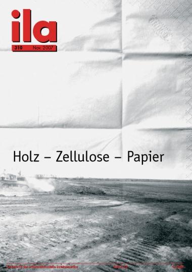 Titelblatt ila 310 Holz - Zellulose - Papier