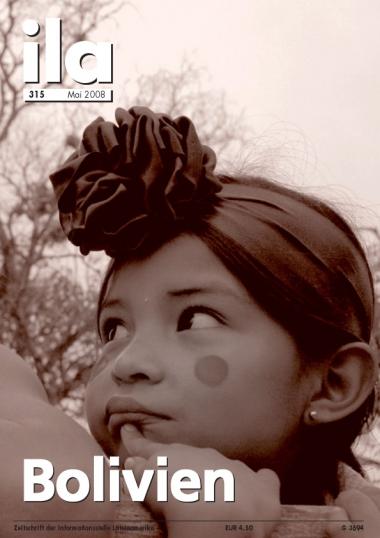 Titelblatt ila 315 Bolivien