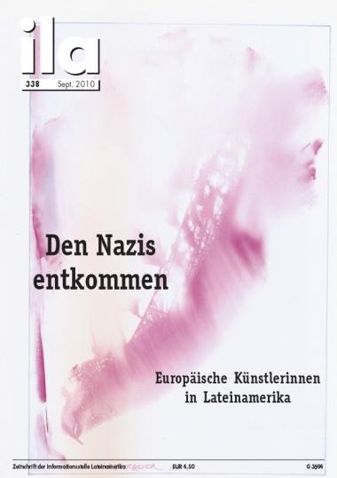 Titelblatt ila 338 Den Nazis entkommen