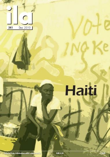 Titelblatt ila 341 Haiti