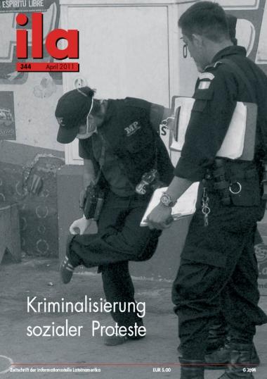 Titelblatt ila 344 Kriminalisierung sozialer Proteste