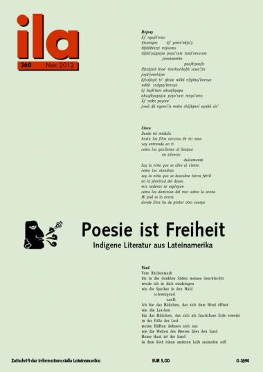 Titelblatt ila 360 Indigene Literatur