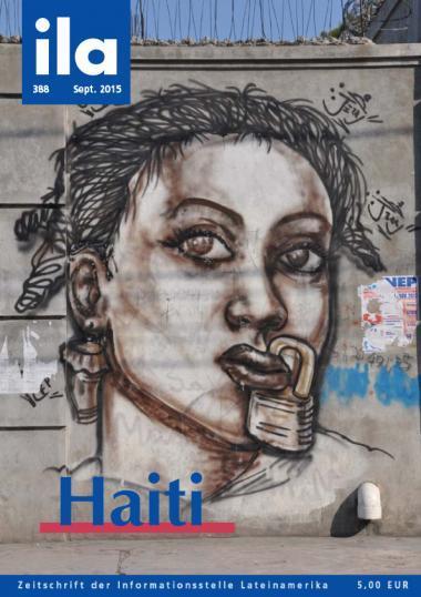 ila 388 Titelbild September 2015 Schwerpunkt Haiti