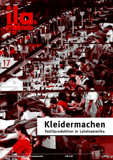 Titelblatt ila 351 Textilproduktion